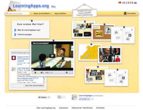 Grammatikwiederholung mit LearningApps