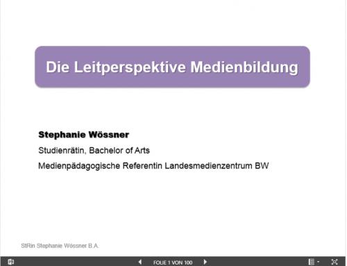 (Deutsch) Impulsreferat: Leitperspektive Medienbildung (Februar 2017)