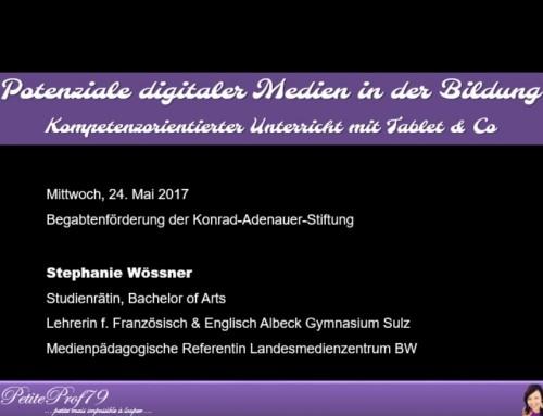 (Deutsch) Potenziale digitaler Medien in der Bildung Kompetenzorientierter Unterricht mit Tablet & Co