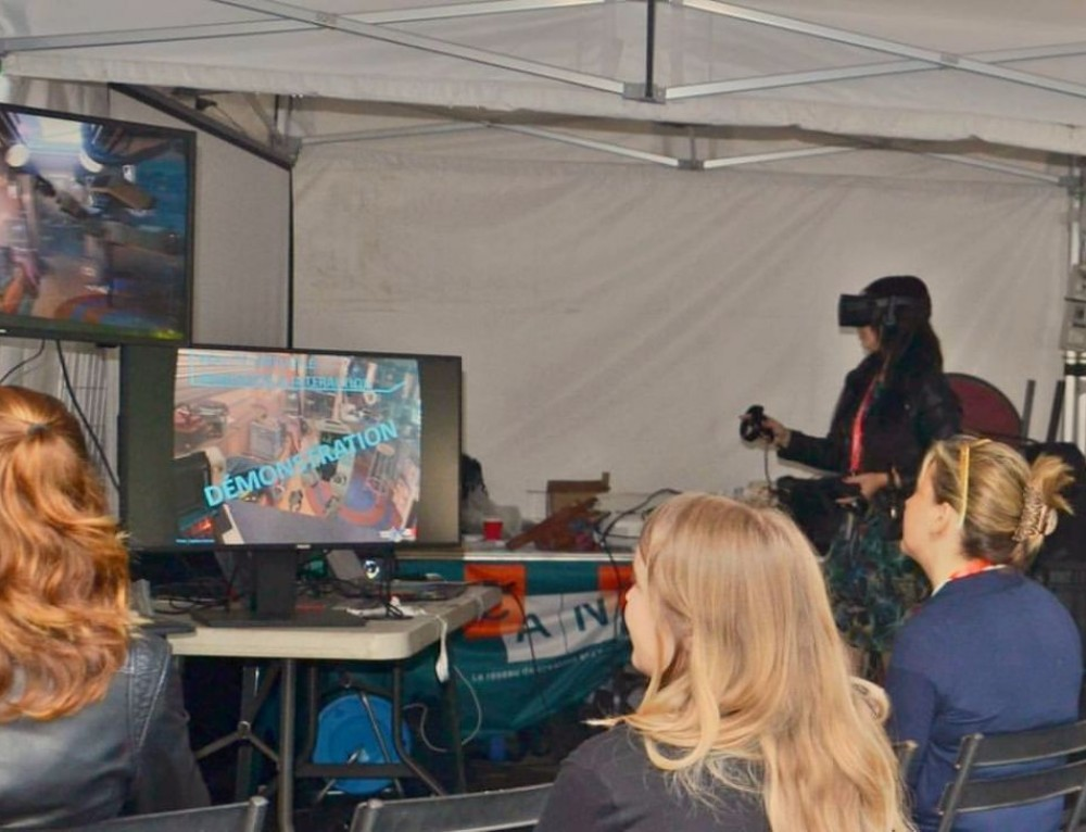 La réalité virtuelle au service de l'apprentissage (Ludovia #14)