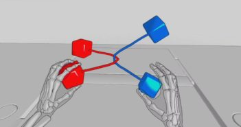 Handtracking in Virtual Reality